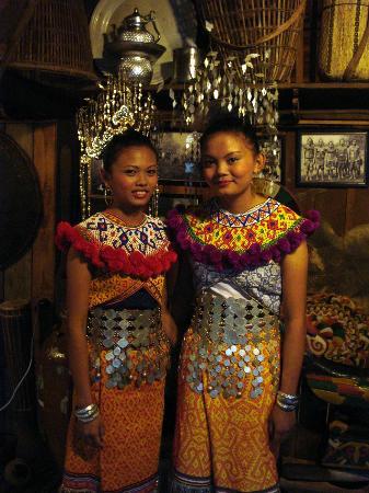 The Kebun: après la cérémonie de bénediction à notre arrivée