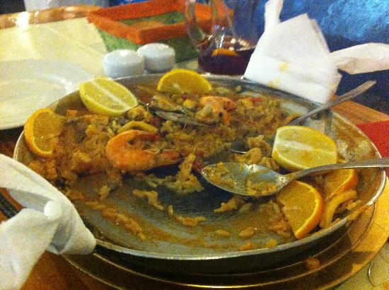 Restaurante El Golfo: paella