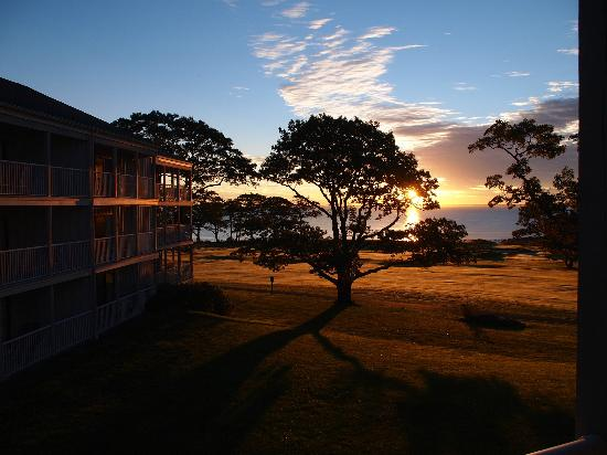 Samoset Resort On The Ocean: Sunrise from the room