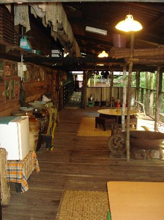 The Kebun: la longhouse