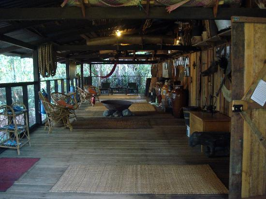 The Kebun: longhouse
