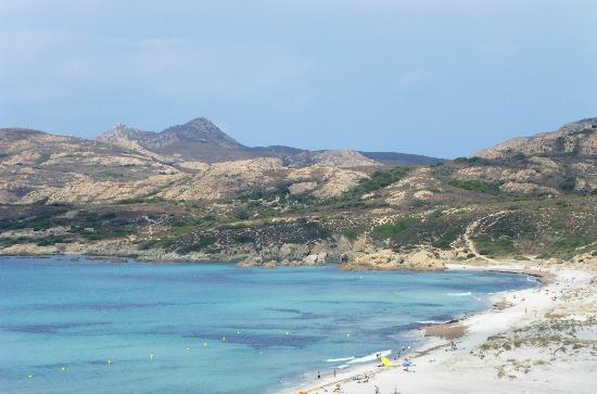 Plage de Saleccia: Veduta spiaggia Piccolo Lodo