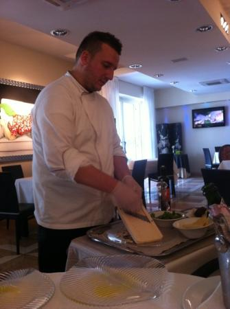 Cervaro, Italy: chef
