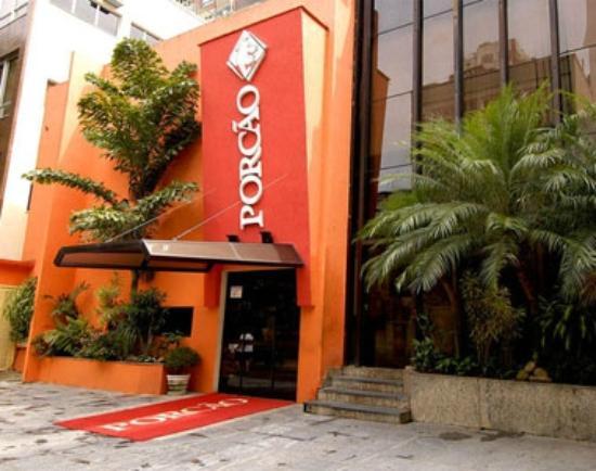 Porcão Ipanema : A fachada