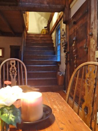 Grist Mill House: Stairway to the rooms
