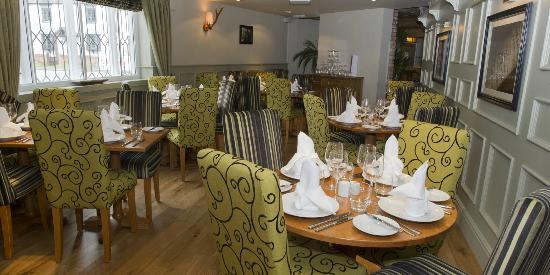 Hanbury, UK: Restaurant