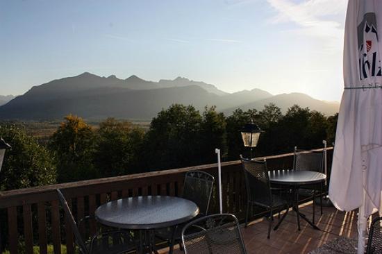 Alpenhof Hotel Restaurant: Am Morgen