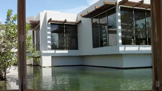 Rosewood Mayakoba: Our villa from laguna