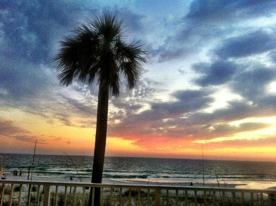 Sunset from our condo
