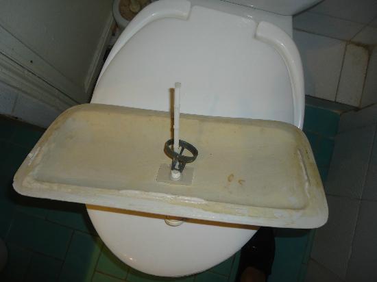 Cleopatra: toilet broken
