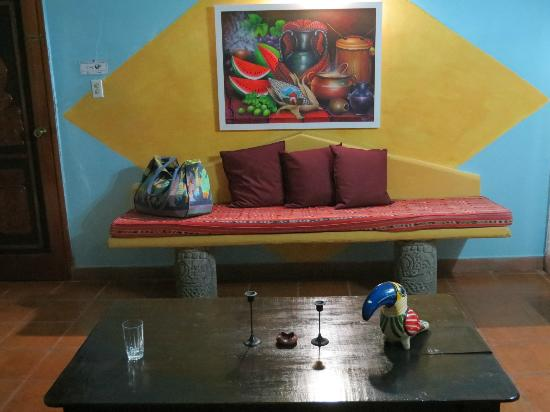 Eco Suites Uxlabil: our living room