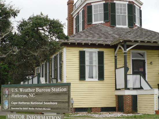 Weather Bureau on Hatteras Island