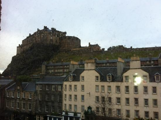 Apex Grassmarket Hotel: view from our room