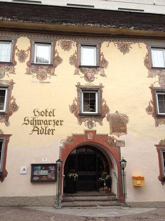 Hotel Schwarzer Adler: Eingang