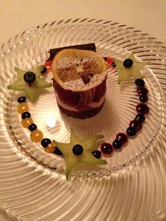 Hotel Schwarzer Adler: Feines Dessert