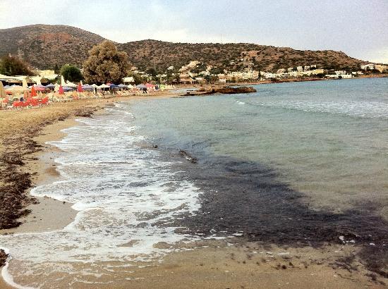 Stalis Beach: blue sea hotel beach