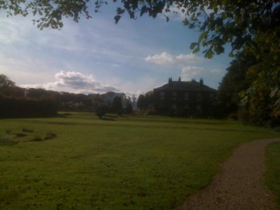 Rowley Manor Country House Hotel: View from the back gardens