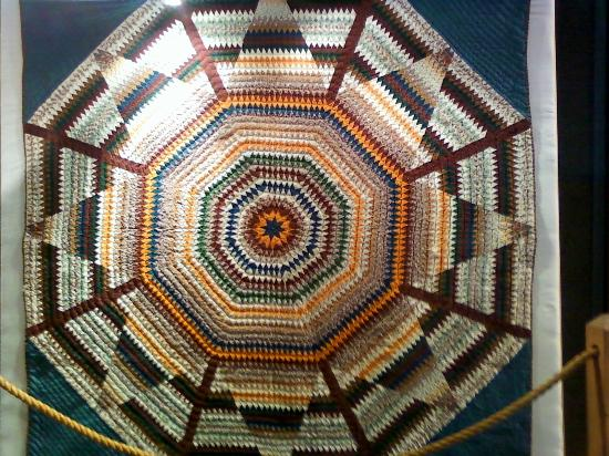 Frontier Homestead State Park Museum: Quilt made by asylum patients, if memory serves me right.