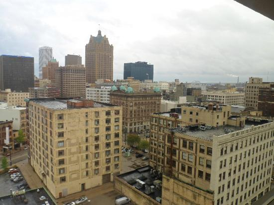 Hyatt Regency Milwaukee: view from room
