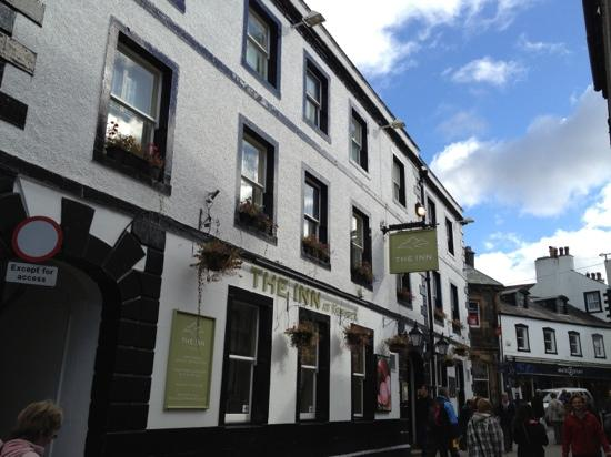 The Royal Oak at Keswick: aanzicht vanuit main street