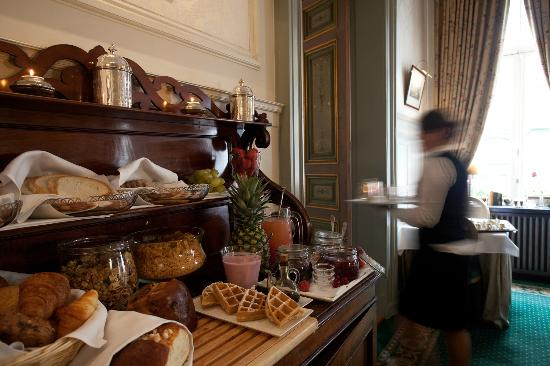 Hotel Heritage - Relais & Chateaux: Breakfast