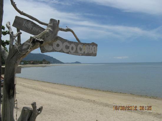 Coco Garden Resort: spiaggia