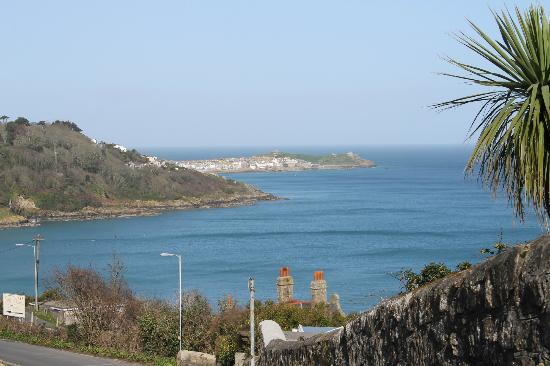 view from outside Headland house