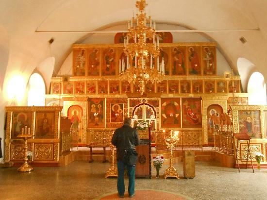 The Church of Ascension: interior