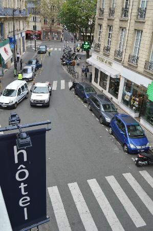 Hotel Bastille Speria: Vista desde piso 2
