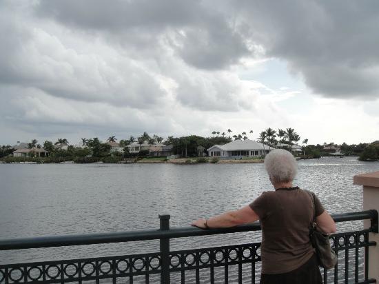 Best Western Intracoastal Inn : View from the boardwalk