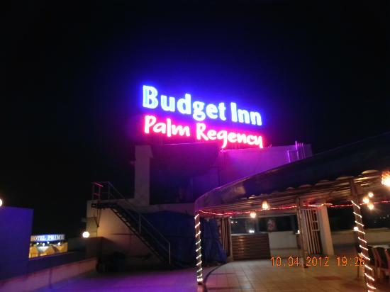 Vapi, India: A picture of the Hotel at night.