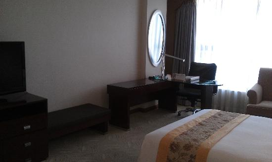 Yingcheng Hotel Guangzhou Vili International Apartment: Desk / work area
