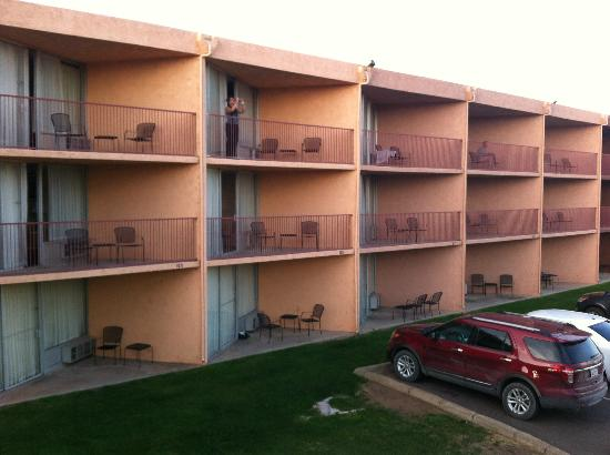Quality Inn at Lake Powell: Room with a View - very important!