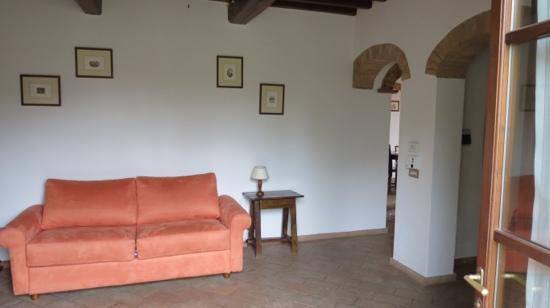 Casa Vacanze Podere Mezzastrada: slaapbank in 2e slaapkamer 108