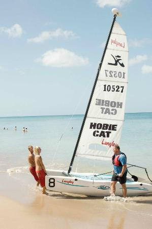 Гваделупа: Hobie Cat Wave catamarans at Fort Royal Guadeloupe