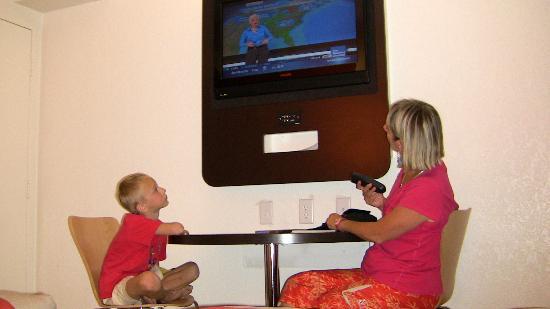 موتل 6 جاكسون دبليو واي: la télé dans la chambre 