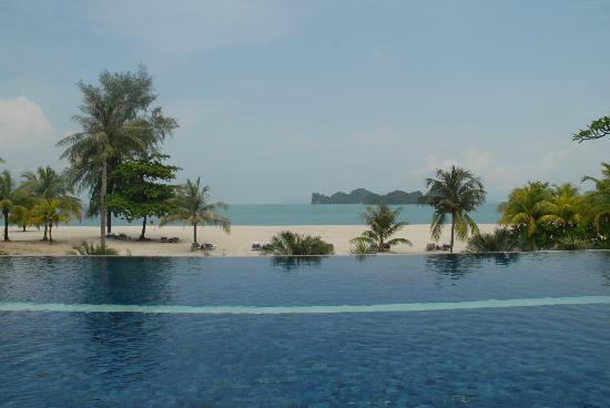 Four Seasons Resort Langkawi, Malaysia: View from the silent pool