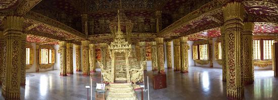 Royal Palace Museum: Royal Palace   Luang Prabang   Interior