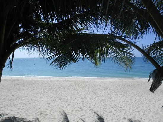 ละไม อินน์ 99 บังกะโล: Our view of the beach at breakfast
