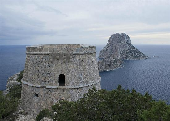 Эс Ведра: Es Vedra from the torres