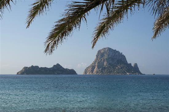 Es Vedra from Cala D'Hort beach