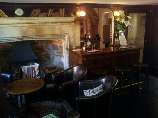 The Weymouth Arms: The welcoming reception and Wiltshire's largest fireplace