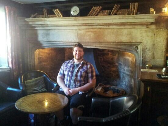 The Weymouth Arms: Wiltshire's largest fireplace