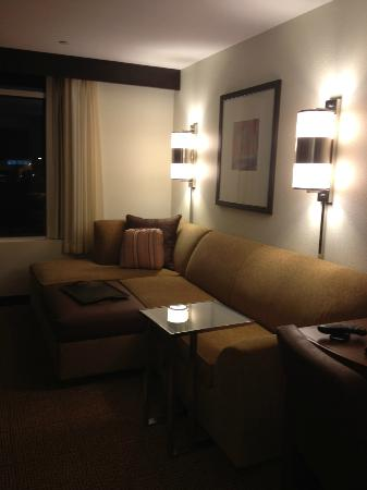 Hyatt Place Houston/Sugar Land: Great place to hang out in your room and watch tv! 