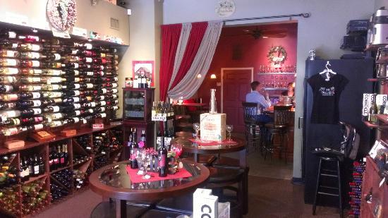 The Cellar Door : The Wine Den