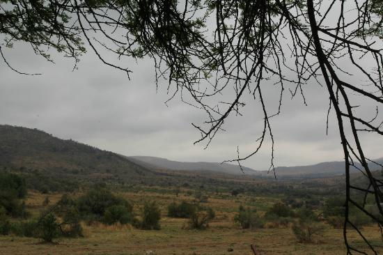 Bakubung Bush Lodge: View down the valley