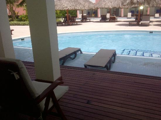 TRS Turquesa Hotel: Our beautiful swim-up