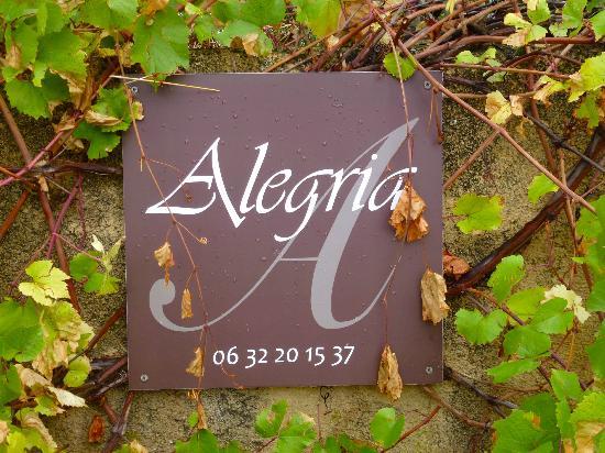 Alegria in Aups: Willkommen