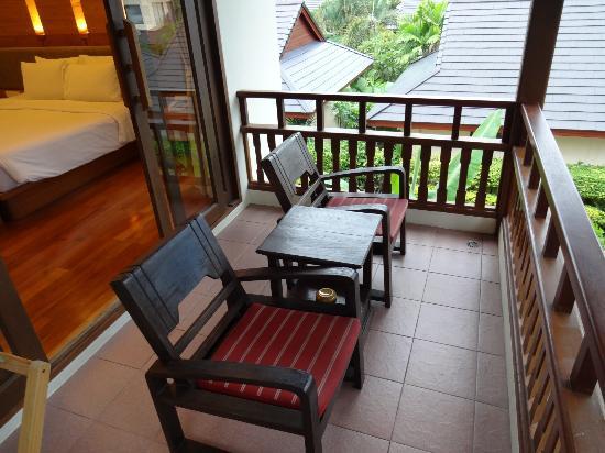 Thai House Beach Resort: balkon
