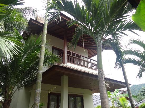 Thai House Beach Resort: balkon villa N